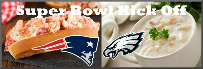 Super Bowl Lobster Rolls