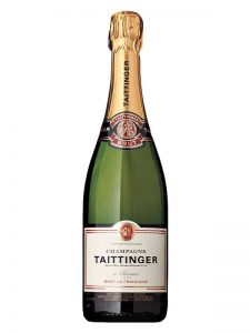 Taittinger Champagne goes with Wellfleet Oysters